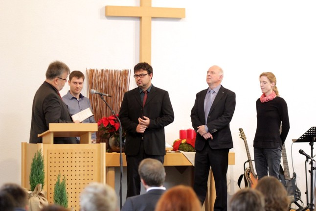 Matthäus-Gemeinde Schwaikheim: Ordination von Alexander Walz