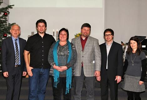 OLGA-Gemeinde Stuttgart: Pastoral-Team eingesetzt
