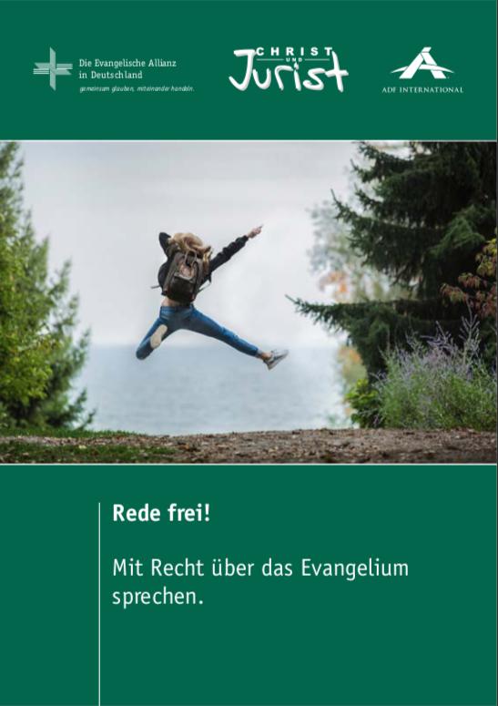 """""""Rede frei!"""" - Broschüre über Meinungs- und Religionsfreiheit veröffentlicht"""