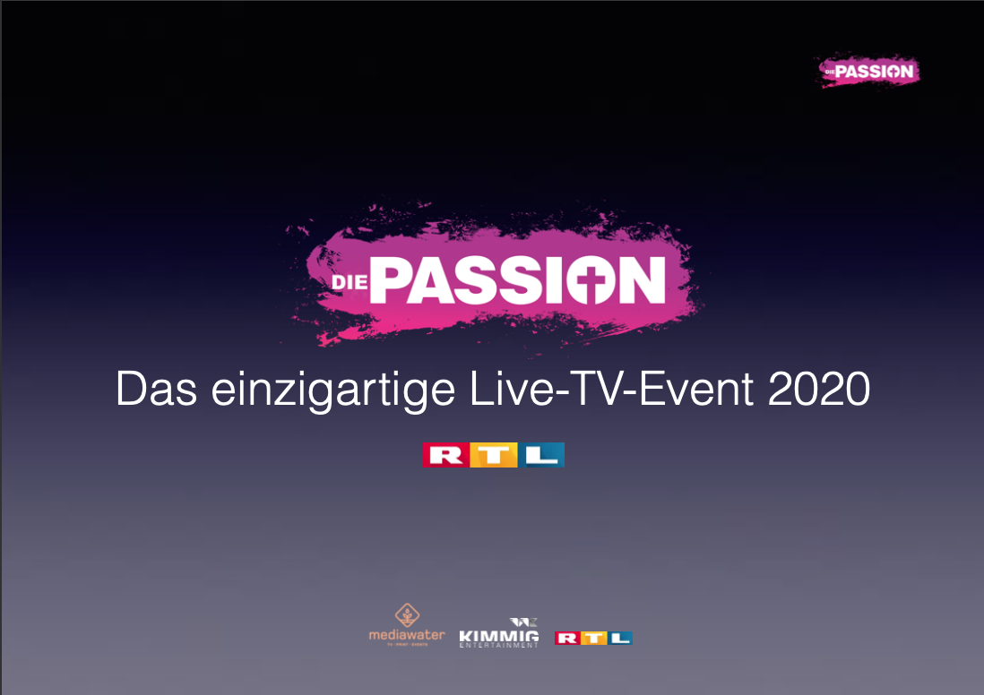 "<p style=""font-size:11pt;"">'Ostergarten' als TV-Event</p>Die Passion 2020"