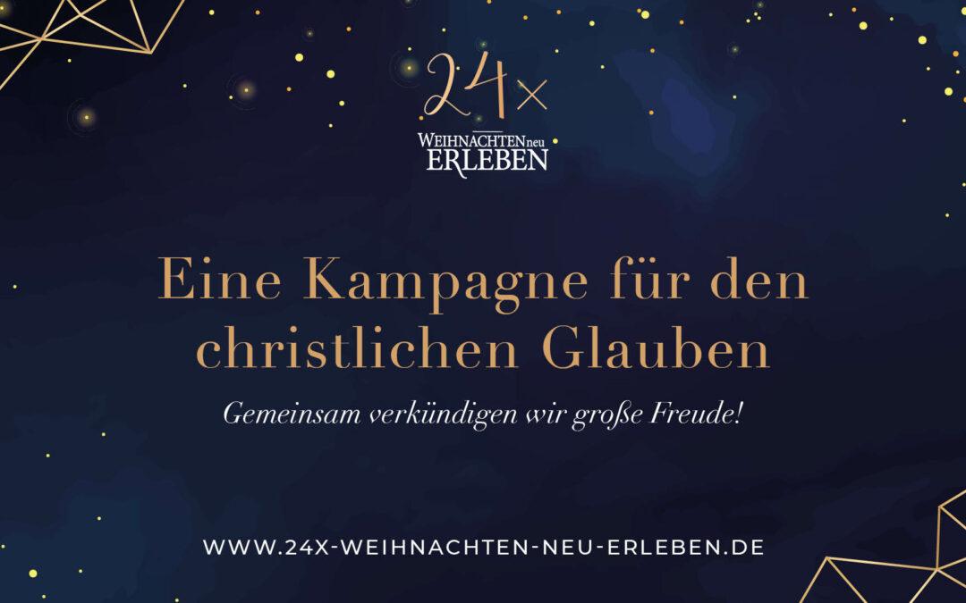 24x Weihnachten neu erleben – der MV ist dabei!