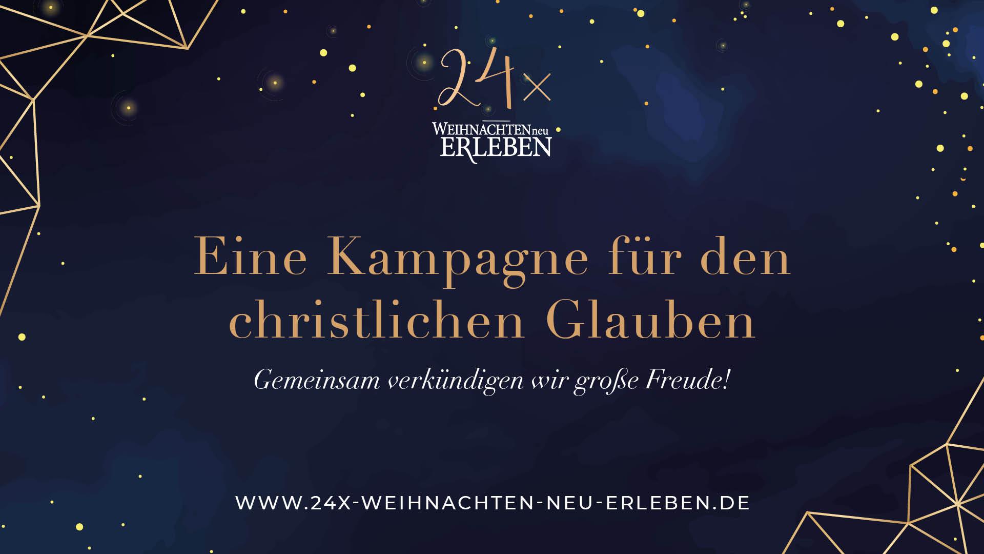 24x Weihnachten neu erleben - der MV ist dabei!