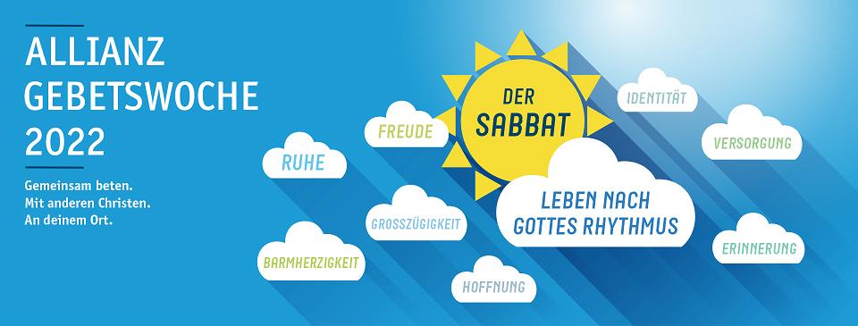 """Gebetswoche der Evangelischen Allianz: """"Sabbat - Leben nach Gottes Rhythmus"""""""